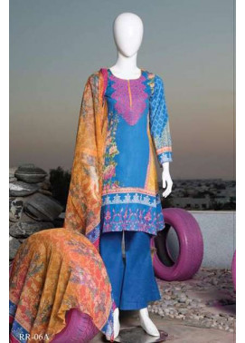 Rangoli Embroidered Lawn Unstitched 3 Piece Suit RRS17L 6A