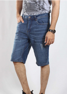 Red Tree Denim Casual Shorts for Men - Blue RTM18SHO 18