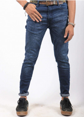 Red Tree Denim Casual Men Jeans - Blue RTP163
