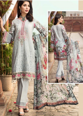 Rubab by Mohagni Embroidered Lawn Unstitched 3 Piece Suit RMO20L 5 - Luxury Collection