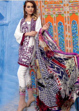 Rungrez Embroidered Jacquard Unstitched 3 Piece Suit RNG19L 03 - Spring / Summer Collection