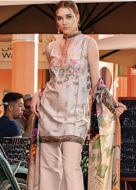 Rungrez Embroidered Jacquard Unstitched 3 Piece Suit RNG19L 08 - Spring / Summer Collection
