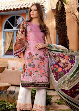 Rungrez Embroidered Lawn Unstitched 3 Piece Suit RNG19L 12 - Spring / Summer Collection