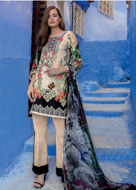 Rungrez Embroidered Lawn Unstitched 3 Piece Suit RNG19L 15 - Spring / Summer Collection