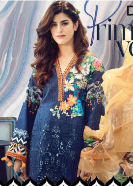 Rungrez Embroidered Lawn Unstitched 3 Piece Suit RNG20R PRIMA VERA D-1 - Luxury Collection