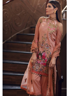 Noor by Saadia Asad Embroidered Cotton Unstitched 3 Piece Suit SA17E2 01