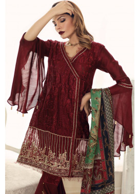 Noor by Saadia Asad Embroidered Cotton Unstitched 3 Piece Suit SA17E2 06