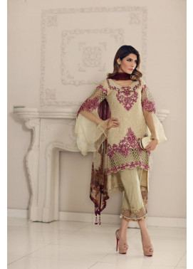 Noor by Saadia Asad Embroidered Cotton Unstitched 3 Piece Suit SA17E2 07