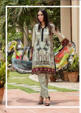 Zohan Textile Embroidered Lawn Unstitched 3 Piece Suit SAZ17L 11B