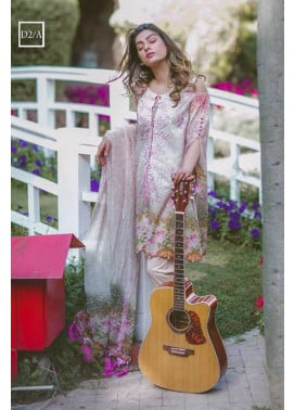 Noor by Saadia Asad Embroidered Lawn Unstitched 3 Piece Suit SA17L 2A