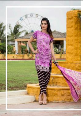 Zohan Textile Embroidered Lawn Unstitched 3 Piece Suit SAZ17L 2B