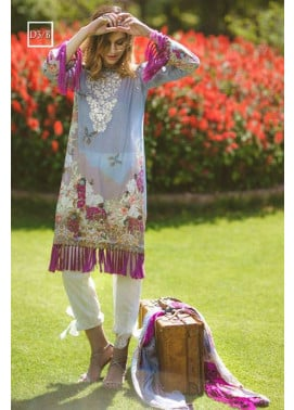 Noor by Saadia Asad Embroidered Lawn Unstitched 3 Piece Suit SA17L 3B