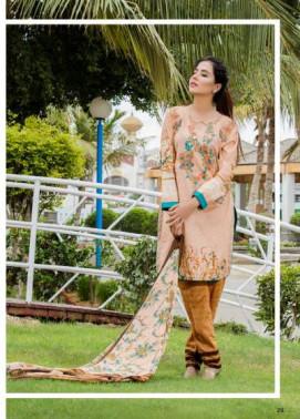 Zohan Textile Embroidered Lawn Unstitched 3 Piece Suit SAZ17L 5A