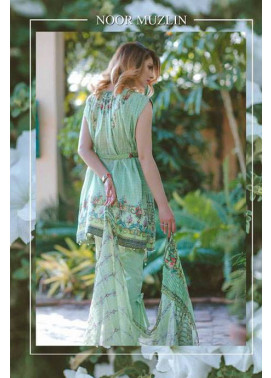 Noor by Saadia Asad Embroidered Lawn Unstitched 3 Piece Suit SA17L 8A