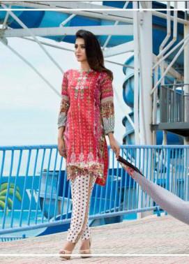 Zohan Textile Embroidered Lawn Unstitched 3 Piece Suit SAZ17L 9A