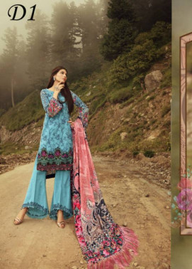 Noor by Saadia Asad Embroidered Khaddar Unstitched 3 Piece Suit SA17W 01