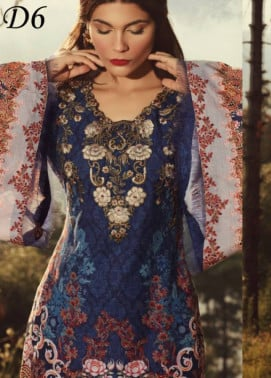 Noor by Saadia Asad Embroidered Khaddar Unstitched 3 Piece Suit SA17W 06