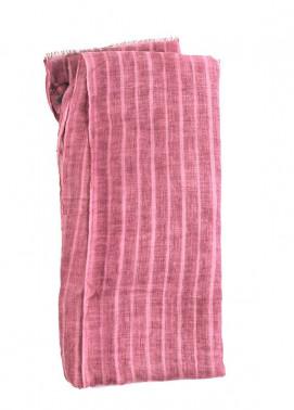Tea Pink Plain Lawn Dupattas for women - SA 402