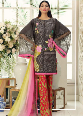 Sable Vogue Embroidered Lawn Unstitched 3 Piece Suit SV20SS 02 Petunia Ikat - Spring / Summer Collection