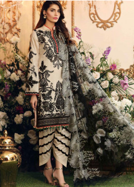 Sable Vogue Embroidered Lawn Unstitched 3 Piece Suit SV20SS 06 Sable Motifs - Spring / Summer Collection