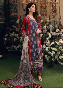 Sable Vogue Embroidered Lawn Unstitched 3 Piece Suit SV20SS 09 Ethnic Gala - Spring / Summer Collection