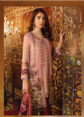 Safeera by Flossie Embroidered Chiffon Unstitched 3 Piece Suit SFR19ECC 05 - Luxury Collection