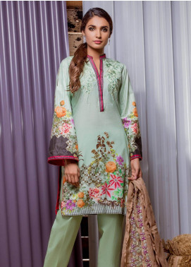 Sahil By ZS Textiles Embroidered Lawn Unstitched 3 Piece Suit SE18MS 15 - Mid Summer Collection