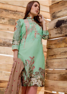 Sahil By ZS Textiles Embroidered Lawn Unstitched 3 Piece Suit SE18MS 16 - Mid Summer Collection