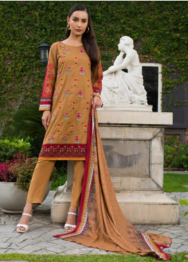 Sahil By ZS Textiles Embroidered Lawn Unstitched 3 Piece Suit SL19MS 2A - Mid Summer Collection