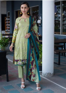 Sahil By ZS Textiles Embroidered Lawn Unstitched 3 Piece Suit SL19MS 3A - Mid Summer Collection