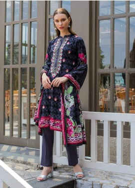 Sahil By ZS Textiles Embroidered Lawn Unstitched 3 Piece Suit SL19MS 4B - Mid Summer Collection
