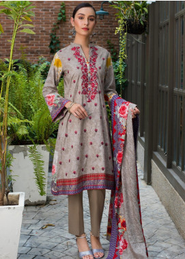 Sahil By ZS Textiles Embroidered Lawn Unstitched 3 Piece Suit SL19MS 5B - Mid Summer Collection