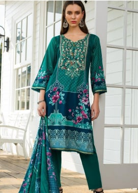 Sahil By ZS Textiles Embroidered Cambric Unstitched 3 Piece Suit SL20-MS2 03B - Mid Summer Collection