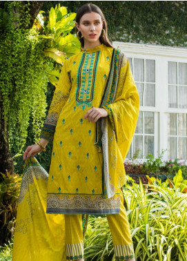 Sahil By ZS Textiles Embroidered Cambric Unstitched 3 Piece Suit SL20-MS2 04A - Mid Summer Collection