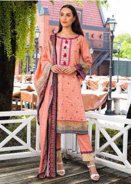 Sahil By ZS Textiles Embroidered Cambric Unstitched 3 Piece Suit SL20-MS2 04B - Mid Summer Collection