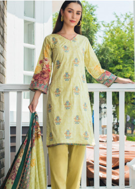 Sahil By ZS Textiles Embroidered Cambric Unstitched 3 Piece Suit SL20-MS2 05A - Mid Summer Collection