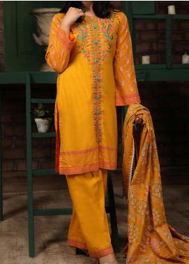 Sahil by ZS Textile Embroidered Lawn Unstitched 3 Piece Suit ZS20MS 1A - Summer Collection