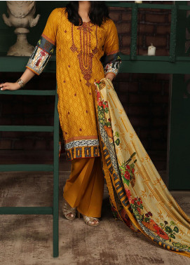 Sahil by ZS Textile Embroidered Lawn Unstitched 3 Piece Suit ZS20MS 2A - Summer Collection