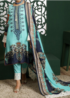 Sahil by ZS Textile Embroidered Lawn Unstitched 3 Piece Suit ZS20MS 4A - Summer Collection
