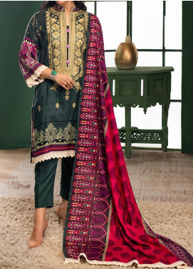 Sahil by ZS Textile Embroidered Lawn Unstitched 3 Piece Suit ZS20MS 6A - Summer Collection