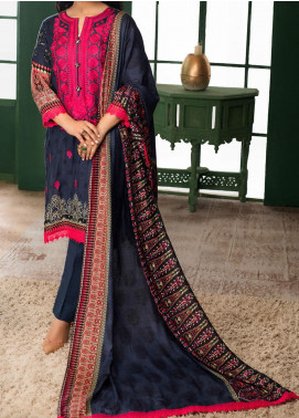 Sahil by ZS Textile Embroidered Lawn Unstitched 3 Piece Suit ZS20MS 6B - Summer Collection