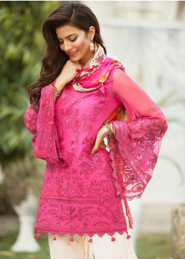 Saira Rizwan Embroidered Lawn Unstitched 3 Piece Suit SR19E 02 SATLEEN - Eid Collection