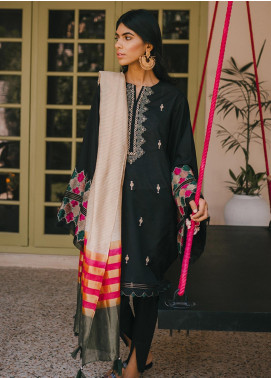 Saira Rizwan Embroidered Cotton Unstitched 3 Piece Suit SR20IS 2 - Eid Collection