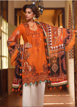 Saira Rizwan Embroidered Lawn Unstitched 3 Piece Suit SR20L 01 - Summer Collection