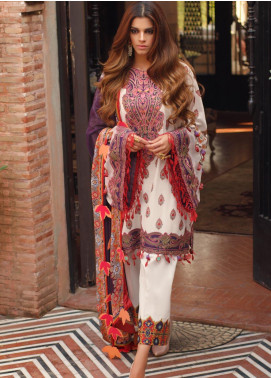 Saira Rizwan Embroidered Lawn Unstitched 3 Piece Suit SR20L 05 - Summer Collection