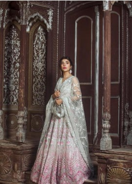 Saira Rizwan Embroidered Organza Unstitched 3 Piece Suit SR19NW JAWAHER - Bridal Wear Collection