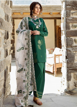 Saira Rizwan Embroidered Jacquard Unstitched 3 Piece Suit SR20W 06 ABILENE - Winter Collection
