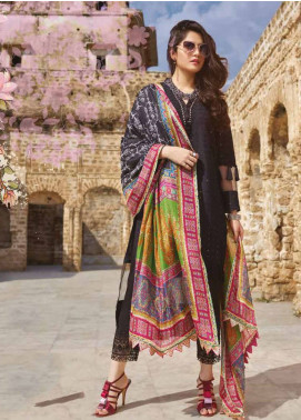 Sakura by Noor Textiles Embroidered Lawn Unstitched 3 Piece Suit SK19SC 06S - Spring / Summer Collection