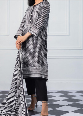Salina by Regalia Textiles Printed Lawn Unstitched 3 Piece Suit SRG20BW 06 - Black & White Collection