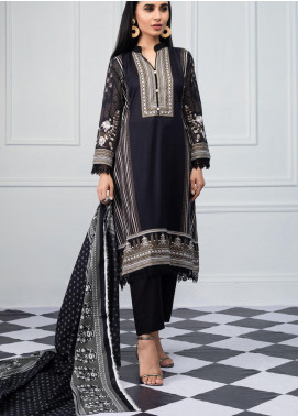 Salina by Regalia Textiles Printed Lawn Unstitched 3 Piece Suit SRG20BW 10 - Black & White Collection